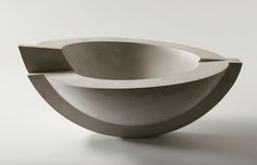 Jo Woffinden - Baroque line of sculptural objects is a juxtaposition of geometric curves, lines and planes.