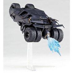 Sci-Fi Revoltech Batman The Dark Knight Tumbler Camouflage véhicule articulé