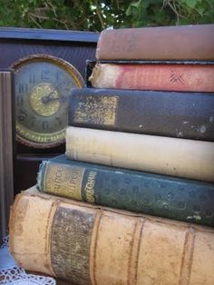 Antique Week: Clocks and Books