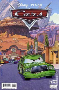 Cars (2009 2nd Series Boom Studios) 1B disney pixar comic cover