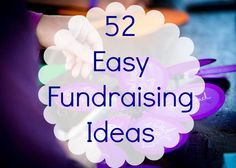 52 fun activities to raise funds in the workplace (Alzheimer's focused,  but can adapt to hs)
