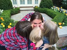 Stephanie McMahon & Her Daughters