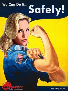 Vintage Style Safety Poster » Bold Pixel Media