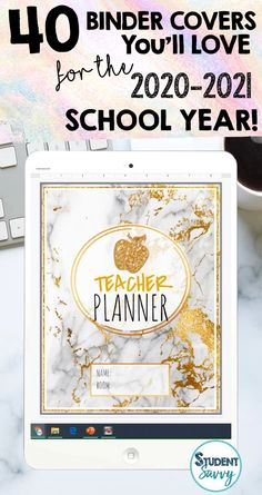 40 Teacher Planner Covers You'll Love for 2020-2021 School Year!