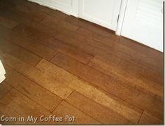 Brown-Bag:  Floor...wood-look instead of stone/leather