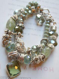 ON SALE green bracelet bracelet fluorite bracelet by soulfuledges