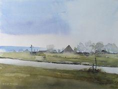 (56) Edo Hannema Watercolorart
