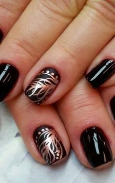 stylish nail Art ideas for women 2015
