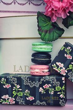 Indulge in overpriced sweets! #Laduree #macarons #dessert