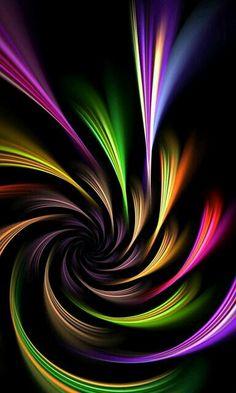 "Photo from album ""Пины фракталы"" on Yandex. Art Fractal, Fractal Design, Colorful Wallpaper, Wallpaper Backgrounds, Mobile Wallpaper, Hd Phone Wallpapers, Rainbow Wallpaper, Iphone Wallpaper, World Of Color"
