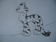 This is Tarzea the Tiger. She is in my dream too. She was bad. My dream is almost done.