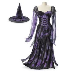 Midnight Sorceress Ensemble - Women's Clothing & Symbolic Jewelry – Sexy, Fantasy, Romantic Fashions