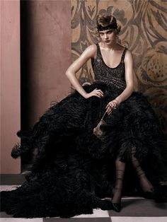 """Natalia Vodianova in """"Fashioning The Century"""" by Steven Meisel for Vogue"""