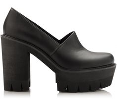 Cool High Vamp Loafer by Bianco Footwear.