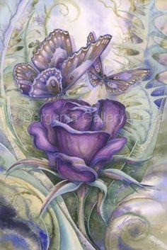 Jody Bergsma Gallery Press2013::Love Is A Beautiful Thing - Watercolor