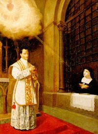 St. Claude de la Colombiere - Priest who spread devotion to the Sacred Heart along with St. Margaret Mary