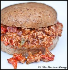 Clean Eating Sloppy Joe's (Click Pic for Recipe) I completely swear by CLEAN eating!! To INSANITY and back.... One Girls Journey to Fitness, Health, & Self Discovery.... http://mmorris.webs.com/