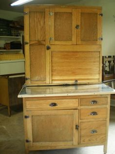 Incroyable NAPANEE HOOSIER VINTAGE CUPBOARD My Napanee Is The Same But I Had It  Mirrored On The