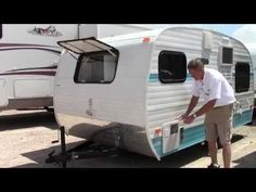 New 2014 Riverside RV White Water Retro 155 Travel Trailer - Houston, Dallas & Las Cruces - YouTube