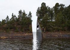 Landscape intervention to honour Norwegian terrorist attack victims