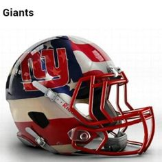 NYGIANTS : Graphic Designers come up with a modern conceptual spin on helmets for all 32 NFL teams! What do you thin of the Giants one? VIEW HERE: