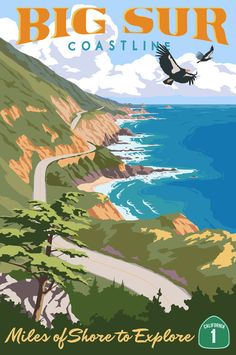 Big Sur Coastline - limited edition print by Steve Thomas Adventure Time, Adventure Is Out There, Adventure Tattoo, Adventure Couple, Adventure Quotes, Adventure Travel, Big Sur California, California Coast, California Decor