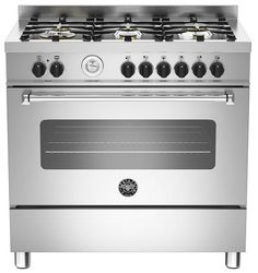 Buy Bertazzoni Master Series Dual Fuel Range Cooker With A Single Oven-Matt Cream from Appliances Direct - the UK's leading online appliance specialist Dual Fuel Cooker, Dual Fuel Range Cookers, Cooking Appliances, Stainless Steel Appliances, Kitchen Appliances, Kitchens, Bertazzoni Range, Electric Cooker, Cuisine