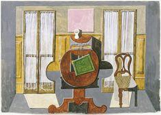 * La salle à manger de l'artiste, rue de la Boétie Paris 1918-19 Picasso
