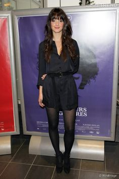 Charlotte Le Bon combine style et perfection Charlotte Le Bon, Great Legs, Playsuits, Dark Hair, Mannequin, What To Wear, Celebrity Style, My Style, French Style