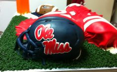 ole miss cake for 2013 signing day by Jeff Taylor