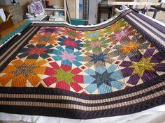 Vintage Farmhouse Quilt  Free pattern from Kim Diehl