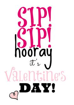 sipsip Sip Sip Hooray Valentines Day Silly Straw Craft Idea