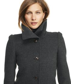 Southport Wool Coat: BLAZERS and OUTERWEAR | Free Shipping at L.L.Bean