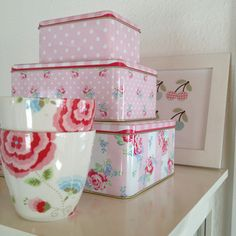 Greengate tins