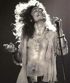 Robert Plant of Led Zeppelin Gorious!