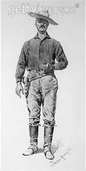 Portrait of Specimen Jones by America painter Frederic Remington century Frederic Remington, Cowboys And Indians, Mountain Man, Old West, American Artists, Buffalo, 19th Century, Old Things, Horse