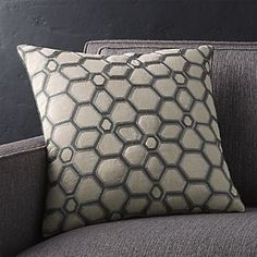 Option 3:  2 pillows for loveseat