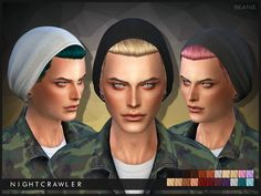 Sims 4 CC's - The Best: Beanie by Nightcrawler