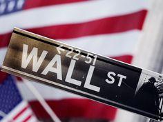Señal de Wall Street, sede de la bolsa de Nueva York