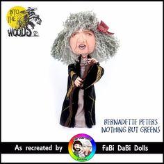 Sondheim Into the woods Bernadette Peters witch FaBi Dabi Peg Doll Bernadette Peters, Woods, Witch, Store, Movie Posters, Ebay, Art, Art Background, Film Poster