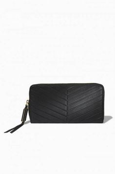Small Black Leather Clutch  | Stella & Dot Christmas wish list alert!!