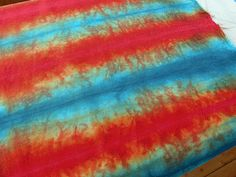 Another way of tray dyeing.