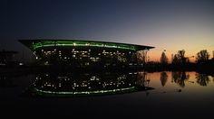 Volkswagen Arena at sunset (Vfl Wolfsburg)
