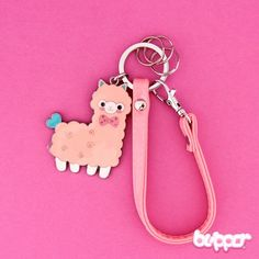 Cute Alpaca Bag Charm