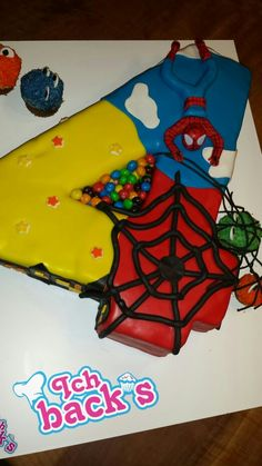 Spiderman torte