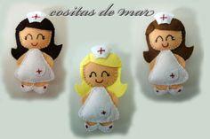 bonecas profissões feltro tecido pinterest - Поиск в Google