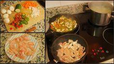 Cocinerando: Tallarines con Chop Suey de Pollo