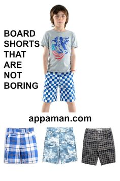 Every skater boy, street kid and surfer dude need a pair or cool board shorts for summer. We love pairing rad shorts with cool tees. Summer style simplified. Find even more cool shorts for boys on appaman.com. Boys Summer Dress Clothes, Boy Dress, Toddler Outfits, Boy Outfits, Tween Boy Fashion, Surfer Dude, Boys Wear, Cool Tees, Boys Shoes