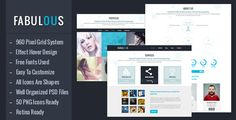 Shopping Fabulous - One Page PSD TemplateIn our offer link above you will see