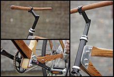 Amigos de la bicicleta-Bicicletas hechas con maderas recicladas